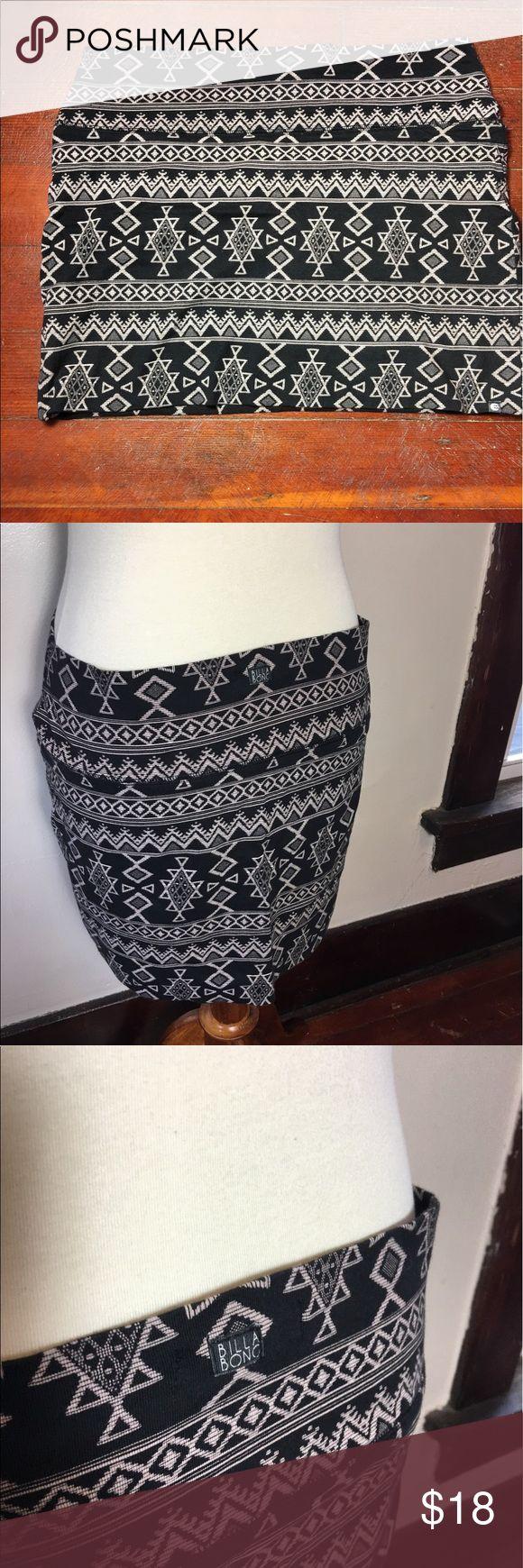 Bills Bong Tribal Skirt So bohemian and sexy! Always open to offers ✨ Billabong Skirts Mini