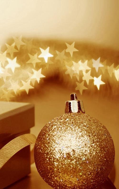 Gold + Glitter Christmas