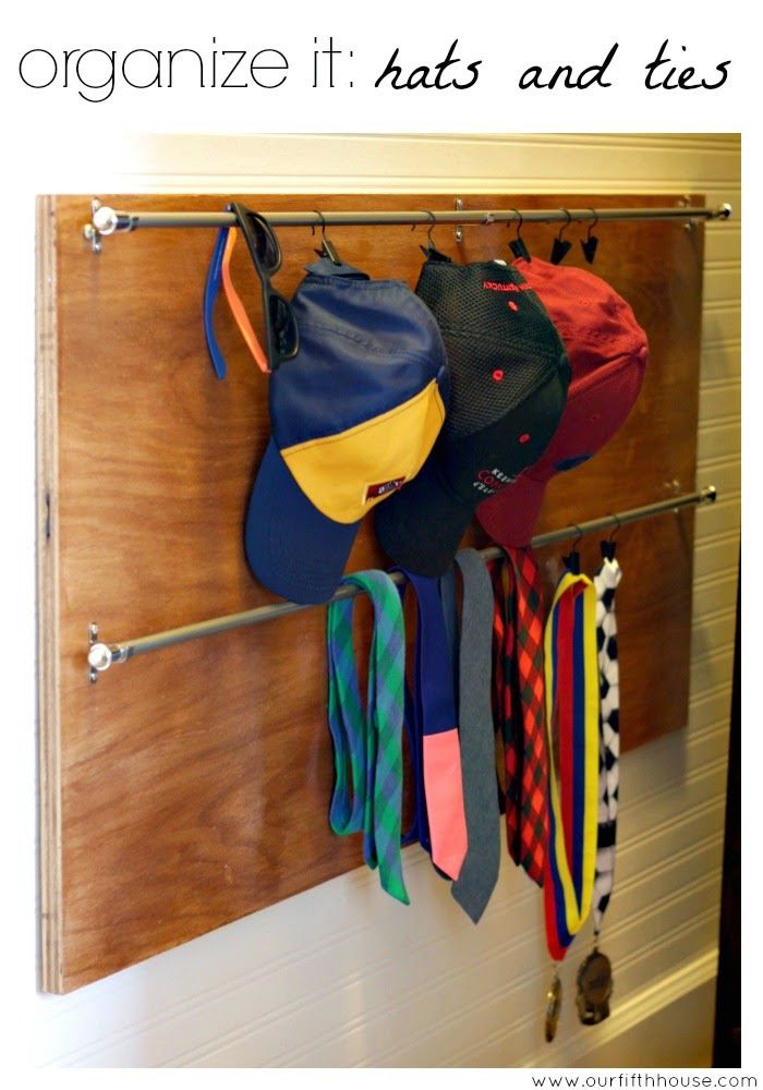 Organize Your Clothes 10 Creative And Effective Ways To Store And Hang Your Clothes: 15 Best Organizing-Baseball Cap Storage Images On