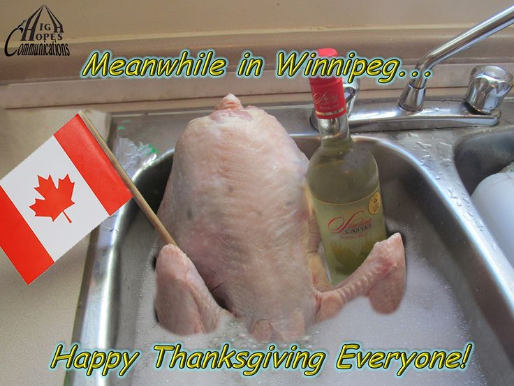 Meanwhile in Winnipeg... Happy Thanksgiving Everyone.