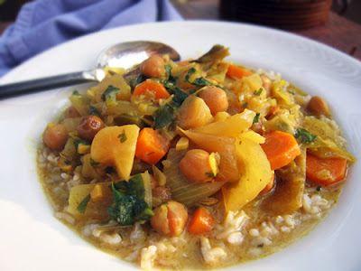A Crock Pot Curry Recipe with Coconut Milk from Gluten Free Goddess (http://punchfork.com/recipe/A-Crock-Pot-Curry-Recipe-with-Coconut-Milk-Gluten-Free-Goddess)