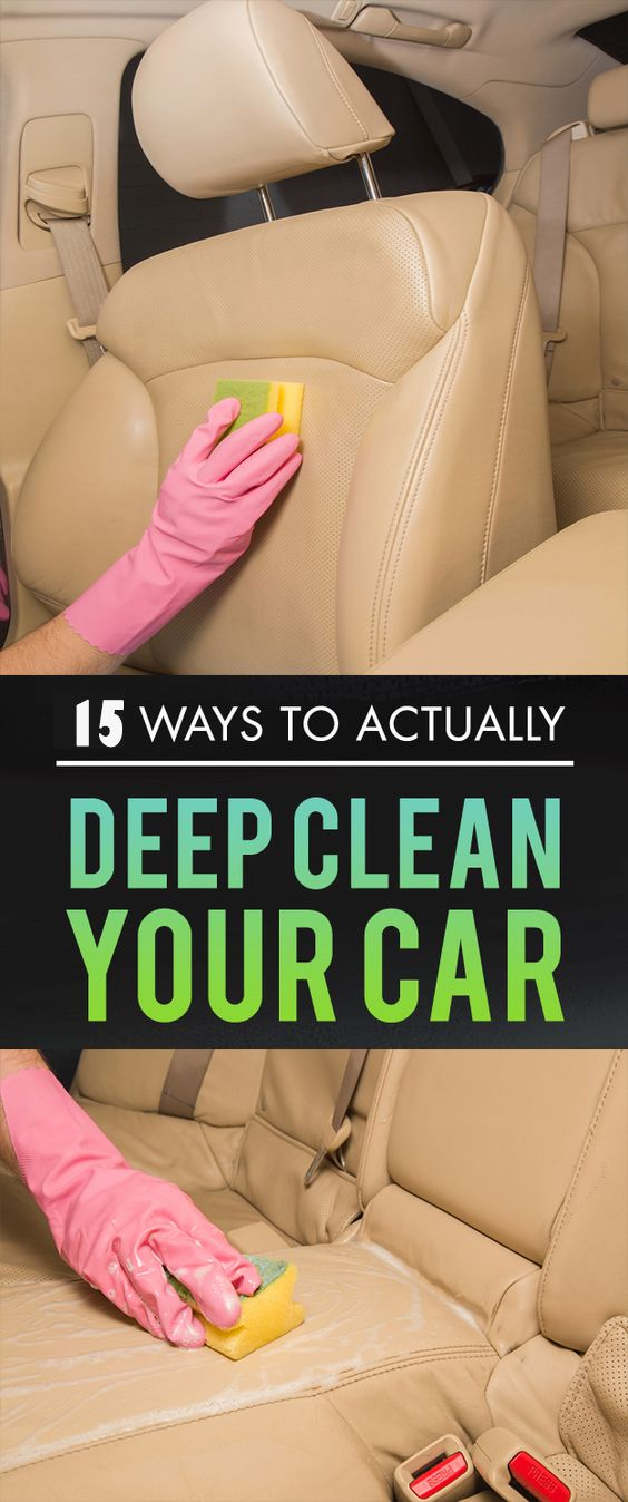 DIY: Cleaning The Seats With Wipes