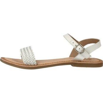 Shoes Sandalen/Sandaletten Mädchen 2008143031 het merk Gioseppo, couleur weiß, Suela: gummi, Interior: Leder, Tacón:  cm. - Kleur : Weiß - Schoenen Kind € 34,95