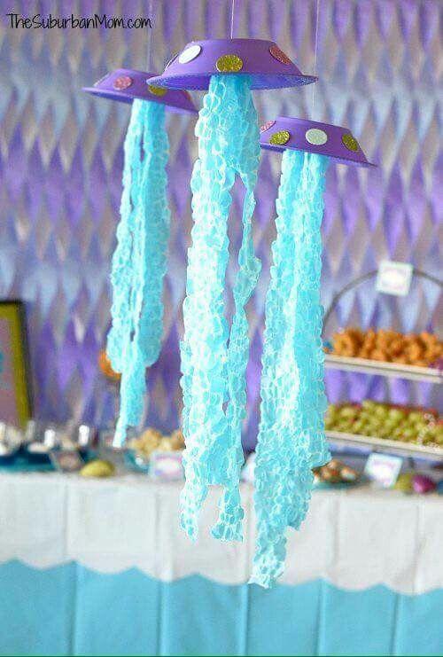 Meerjungfrau Party Dekoration Ideen Fur Den Meerjungfrauen
