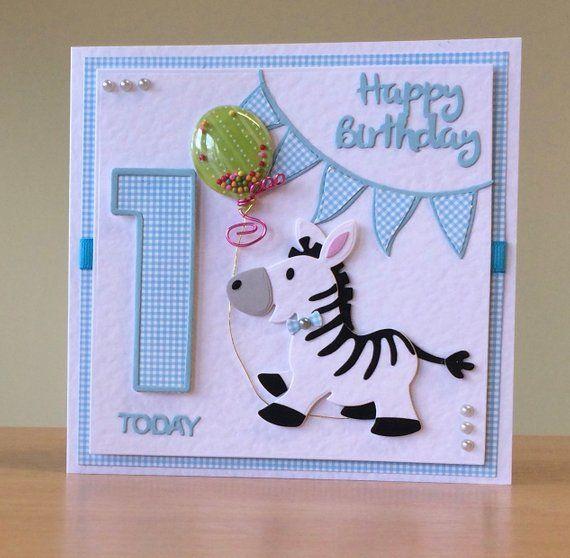 First Birthday Card Handmade 1st Birthday Card Giraffe Etsy First Birthday Cards Cards Handmade 1st Birthday Cards
