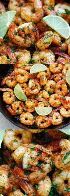 Chipotle Lime Shrimp Chipotle Lime Shrimp  Skillet shrimp with...  Chipotle Lime Shrimp Chipotle Lime Shrimp  Skillet shrimp with smoky chipotle chili pepper lime juice honey and garlic. Takes 15 minutes to make and so delicious | rasamalaysia.com Recipe : http://ift.tt/1hGiZgA And @ItsNutella  http://ift.tt/2v8iUYW
