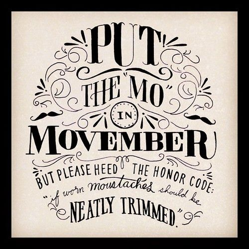 Movember Quotes. QuotesGram