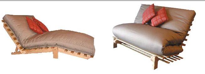 Siesta Futon Sofa Bed or Bed Settee so versatile! #futonz
