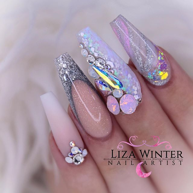 What Dreams Are Made Of Products Used Benutzte What Dreams Are Made Of Products Used Benutzte Produkte Finger Nail Art Nail Trends Loose Glitter
