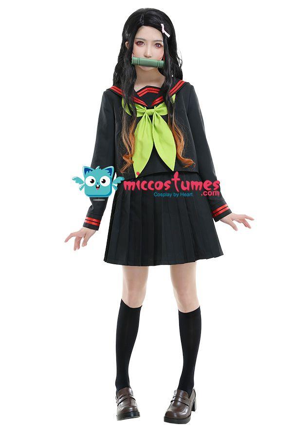 Animer Cosplay Kanroji Mitsuri Cosplay sets Superior Quality Anime Conventi*^