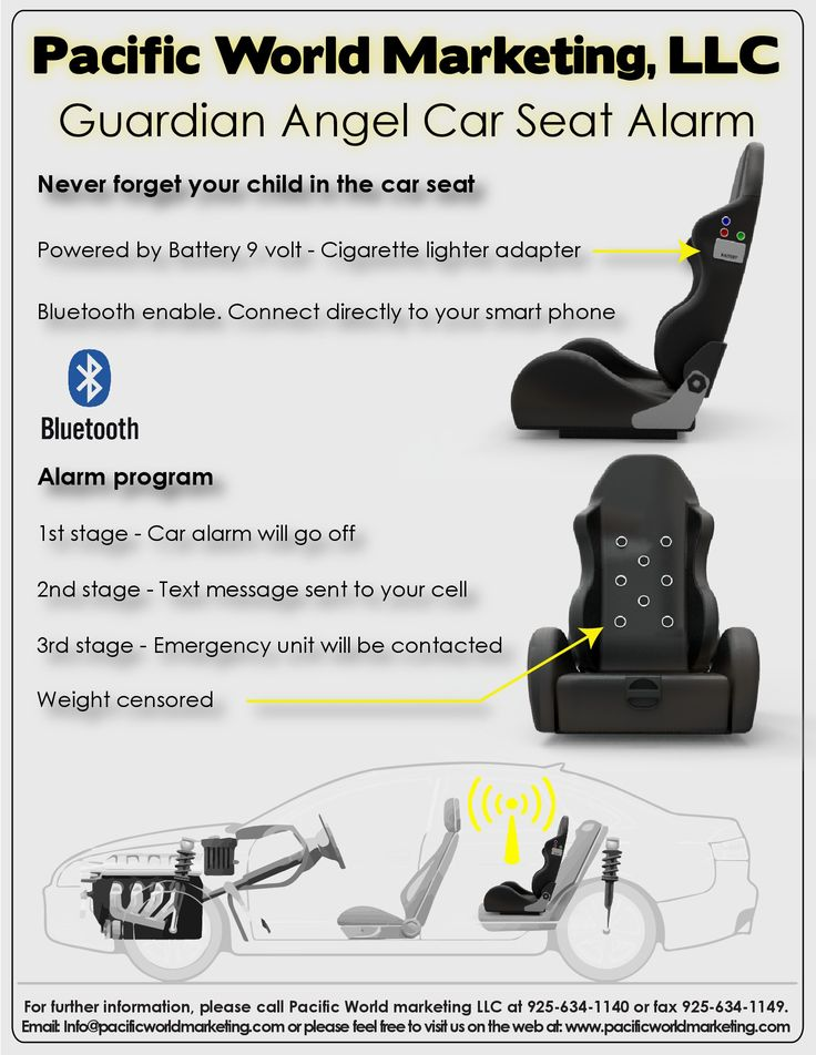 Guardian Angel Car Sear Alarm