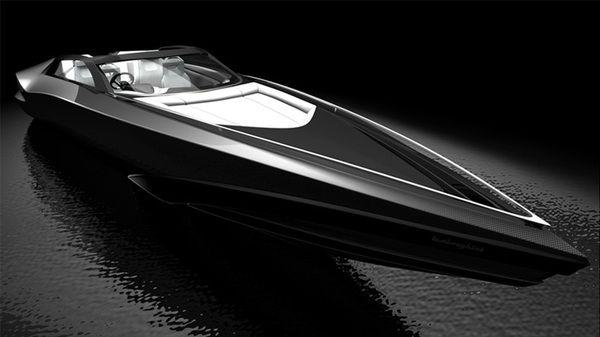 Fusion Powerboat by Serdar Sisman, via Behance