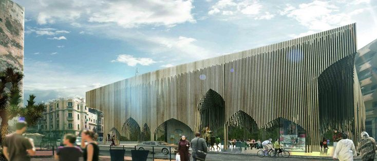 Sustainable Market Square Second Prize Winning Proposal / PMG Architects,Courtesy of PMG Architects