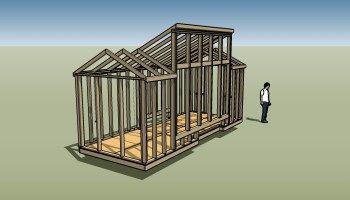 8x20 Solar House Plans - Progress Report