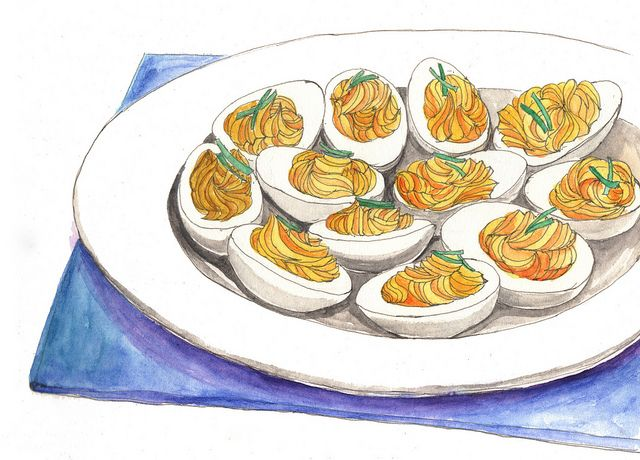 deviled eggs by kana_hata, via Flickr
