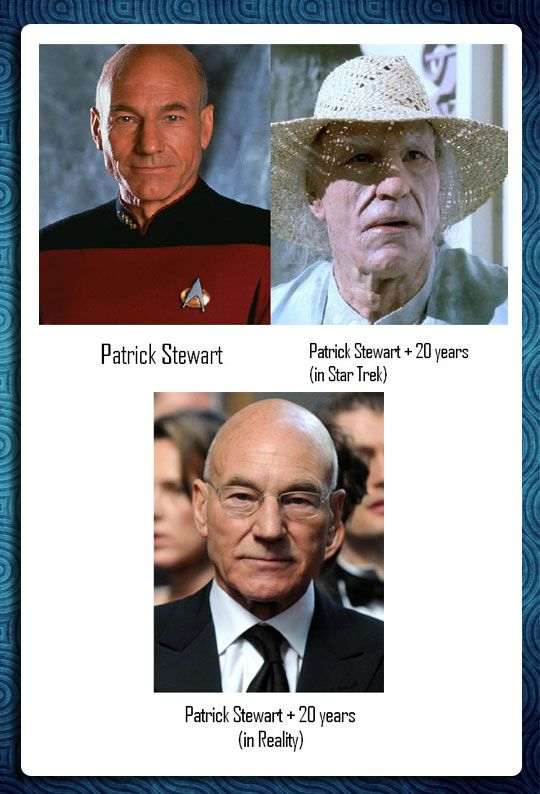 Star Trek got it all… except for one thing… well done Mr. Stewart.