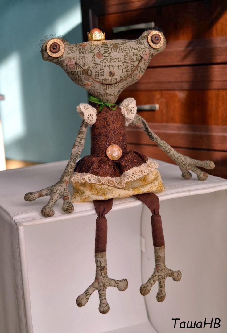 Ташины рукоделки: Царевна лягушка