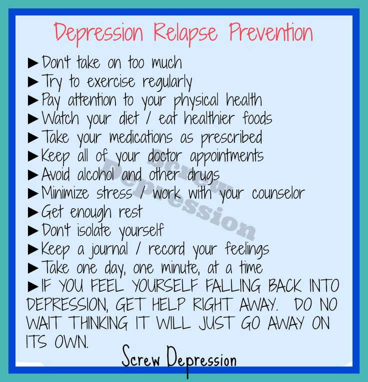Stress and relapse