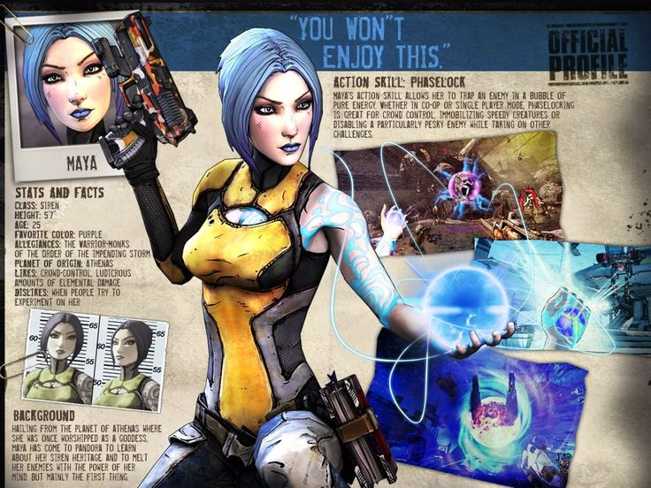 15 best images about Character Bio/Backstory on Pinterest ... Borderlands Character Backstory
