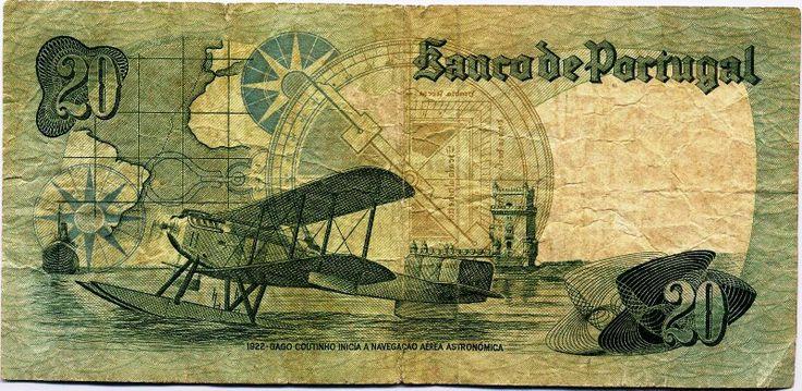 Inspiration. 20 Escudo notes.