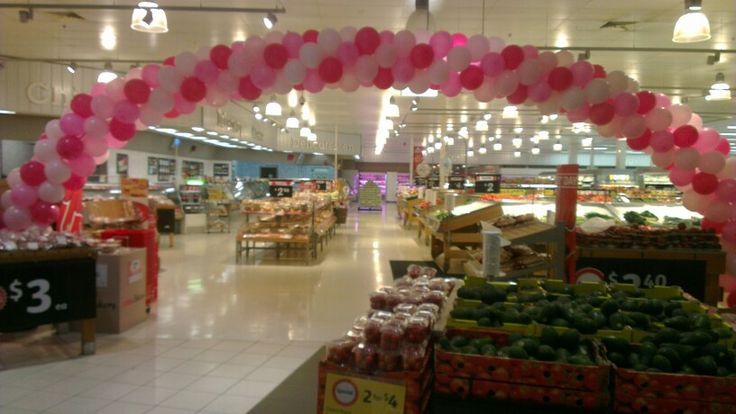 Balloon Arch 10 metres for Mothers Day #balloonarch