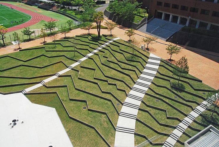 Review: Kyushu Sangyo University Landscape Design - DESIGN NETWORK ASSOCIATES   DNA