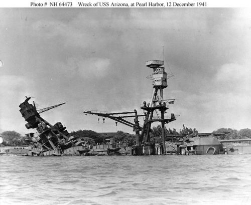 PEARL-HARBOR-RAID-12-4X6-PHOTOS-DEC-7-1941-PACK-4-WW2-WWII