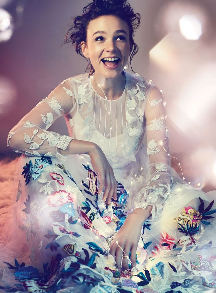 Carey Mulligan by Alexi Lubomirski and styled by Miranda Almond for the December 2014 issue of Harper's Bazaar UK