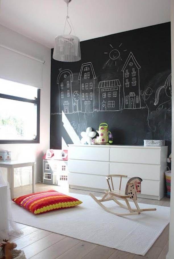 Dekoration mit Tafelfarbe