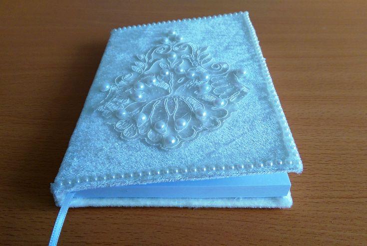Book Decoration For Wedding , Kumaştan Düğün Anı Defteri Yapımı