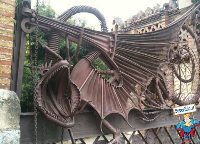 Cancello del Drago - Casa Guell, Gaudì Barcellona, Spagna