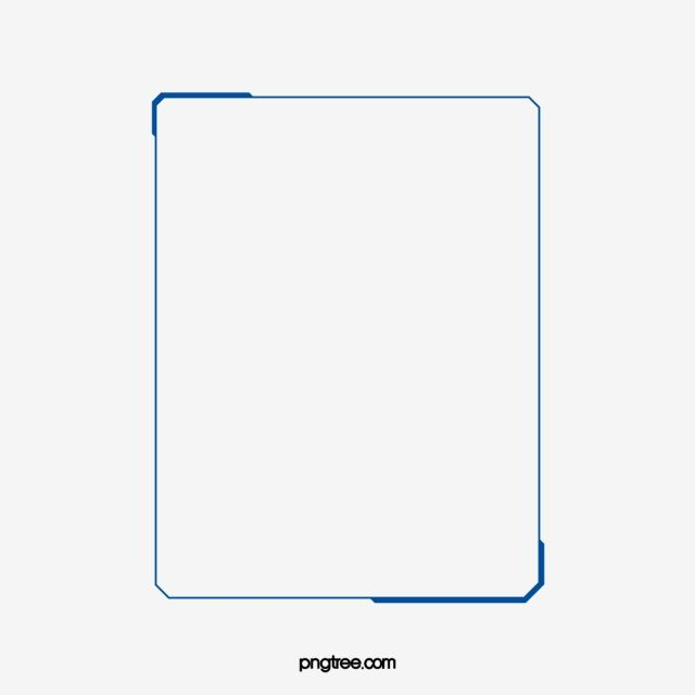 Simple Blue Border Photo Clipart Frame Text Png Transparent Clipart Image And Psd File For Free Download Simple Borders Page Borders Design Frame Border Design