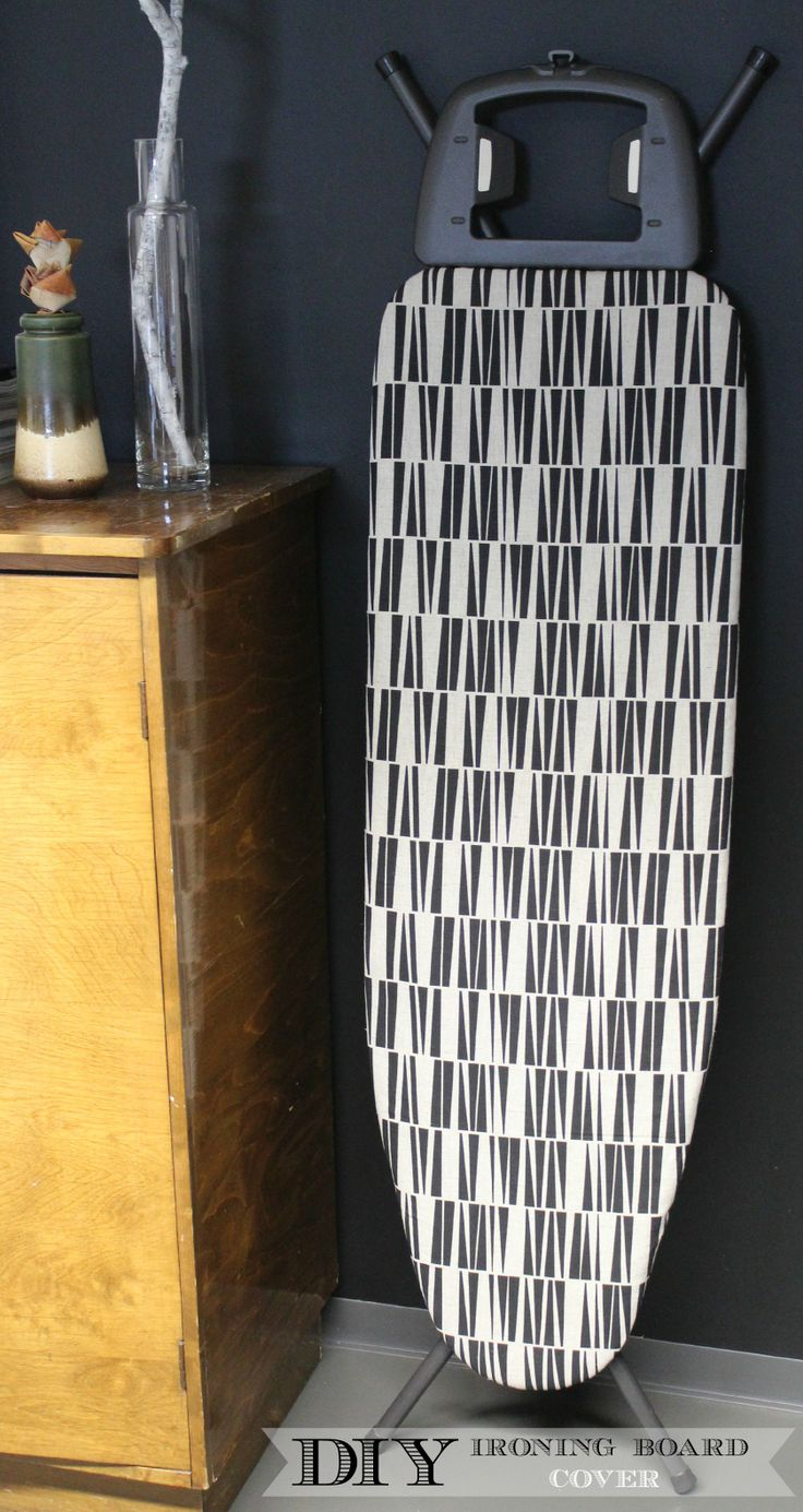 Ironing Board Cover DYI Fabric Project - By Ada & Ina www.linenfabrics.co.uk