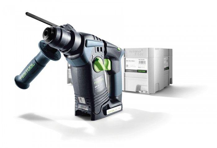 Festool Martello perforatore a batteria BHC 18 Li - Basic Shop online su tuttoferramenta.it