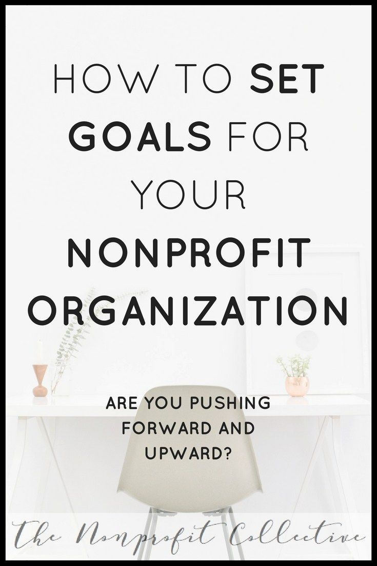 How to Set SMART goals for your nonprofit organization  SMART goal