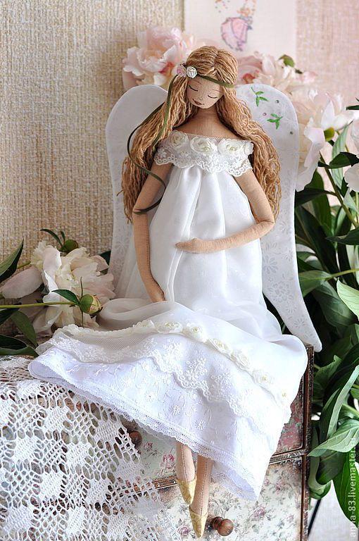 """Купить Ангел """"Новая жизнь"""" - ангел, ангелок, ангелица, белый ангел, беременный ангел, Беременность"""