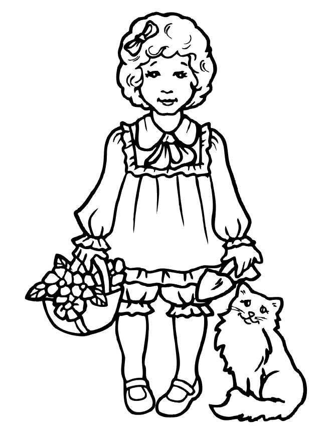 Printable Coloring Pages For Girls Rapunzel Coloring Pages People Coloring Pages Ballerina Coloring Pages