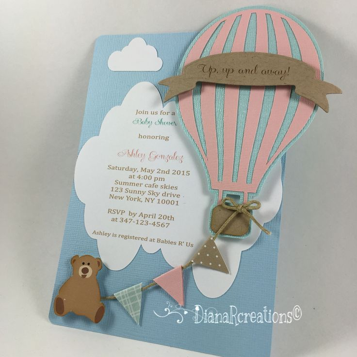 These are ready to go!! Up, Up and Away!!!  Hot air balloon baby shower invitations . Look how cute these baby shower invites came out! @ashleyg2301  #dianarcreations #hotairballooninvites #hotairballooninvitations #handmade #handmadeinvitations #handmadeinvites #babyshowerhotairballoon #girlorboy #neutral #babyshowerinvites #babyshowerinvitations #babyshower #invites #invitations #invitaciones #hotairballoon