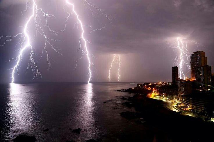 Tormenta eléctrica viña del mar 2015