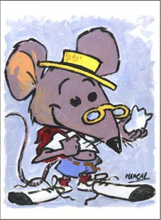 Un ratón, mirando por un agujero en la pared vio a un granjero y a su esposa abriendo un paquete. Pensó, qué tipo de comida podía haber allí, pero quedó aterrorizado cuando descubrió que era una trampa para ratones. Fue corriendo al patio de la granja a advertir a todos: …