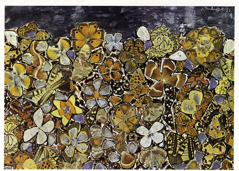 Butterfly Wings  Jean Dubuffet 1953: Dubuffet Butterfly, Butterflies, Wings Jean, Jeans, Butterfly Wings