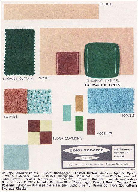 Bathroom Fixtures Colors 88 best 1956 bathroom images on pinterest | 1950s bathroom