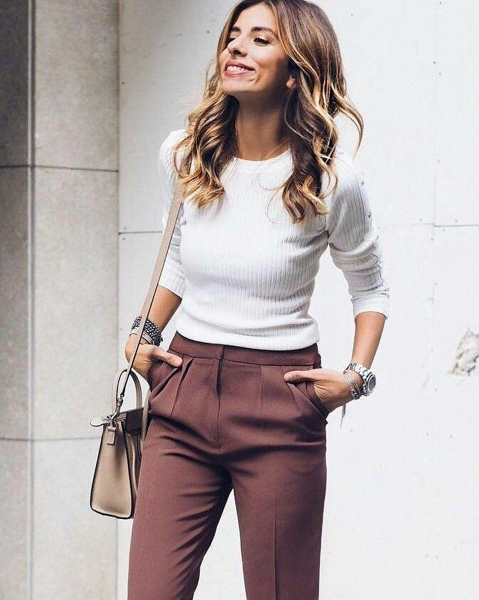 55 Colorful And Cute Spring Work Outfits For The Working Ladies