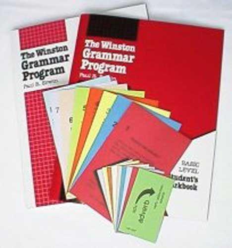 For grade 5 - Winston Grammar Kit or Easy grammar...  still can't pick