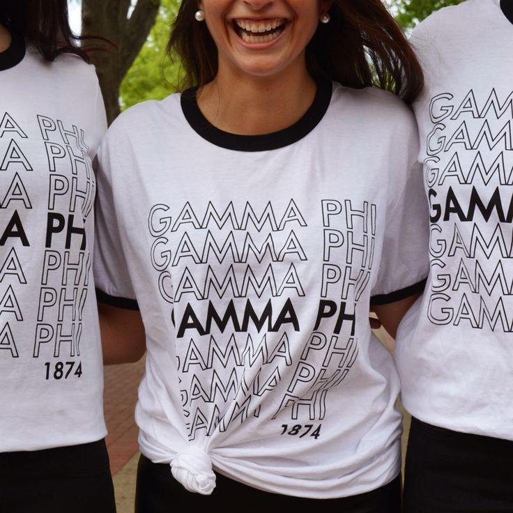 Custom Greek Apparel | Custom Apparel | Gamma Phi | Sorority | Sisterhood | Geneologie