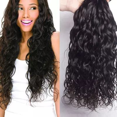 factory direct sale brazilian natural wave hair weave bundles with lace closure,100 virgin human hair extensions
