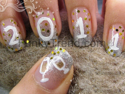 43 best happy new year nail designs images on pinterest new new year nail designs prinsesfo Choice Image