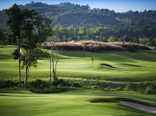 Siam Country Golf Club (Plantation Course) in Pattaya, Thailand