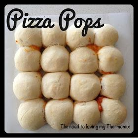 The road to loving my Thermomix: Pizza Pops