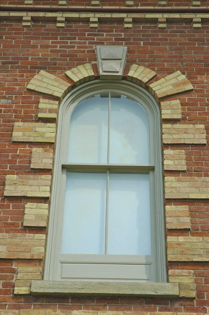 Unique sunburst window in Orangeville!